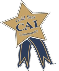 CAI Gold Star.  Horizons at Woods Landing received their second Gold Star Award.